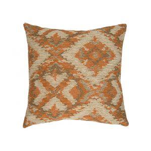 AICO by Michael Amini - 055 Arizona Pekoe 22in Square Pillow - BCS-DP22-ARZNA-PKO