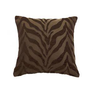 AICO by Michael Amini - 088 Casablanca Brown 22in Square Pillow - BCS-DP22-CSABNC-BRN