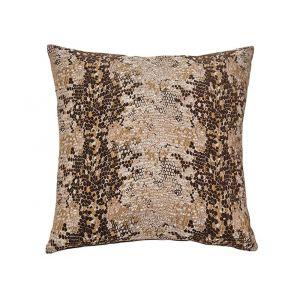 AICO by Michael Amini - 165 Columbia Cocoa 22in Square Pillow - BCS-DP22-CLMBA-COC