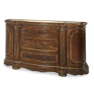 AICO by Michael Amini - Cortina Dresser in Honey Walnut - N65050-28