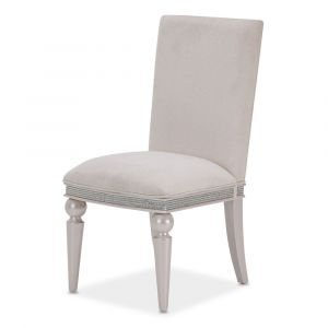 AICO by Michael Amini - Glimmering Heights Side Chair in Ivory (Set of 2) - 9011003R-111