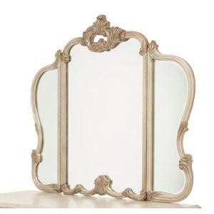 AICO by Michael Amini - Platine de Royale Vanity Mirror in Champagne - N09068-201