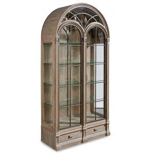 A.R.T. Furniture - Arch Salvage Gwynn Curio China - Parch - 233242-2802
