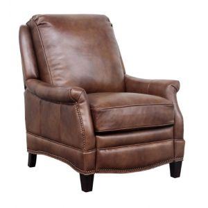 BarcaLounger - Ashebrooke Recliner Wenlock Tawny Leather - 73056570285