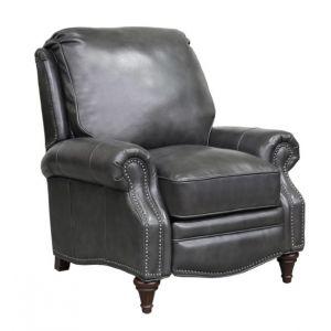 BarcaLounger - Avery Recliner Wrenn Gray Leather - 72160549492
