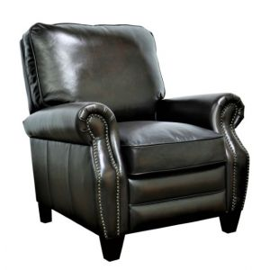 BarcaLounger - Briarwood Recliner Stetson Coffee Leather - 74490540741