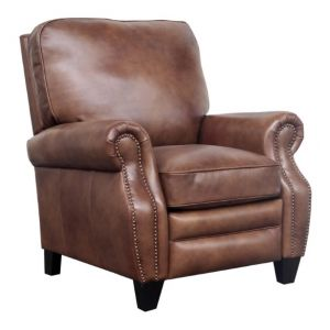 BarcaLounger - Briarwood Recliner Wenlock Tawny Leather - 74490570285