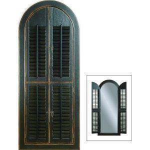 Bassett Mirror - Arched Shutter Mirror - M1925EC