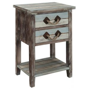Coast To Coast - Two Drawer Accent Table in Islander Multicolor - 91748