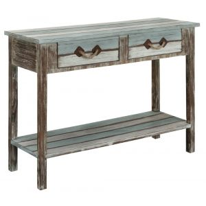 Coast To Coast - Two Drawer Console Table in Islander Multicolor - 91747