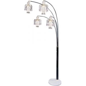 Coaster - Floor Lamp (Black) - 1771N