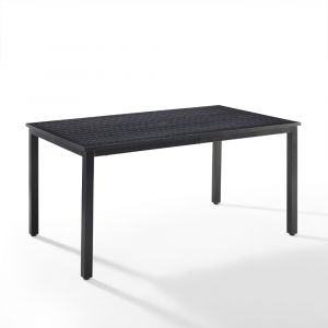 Crosley Furniture - Kaplan Outdoor Dining Table Oil Rubbed Bronze - CO6215-BZ