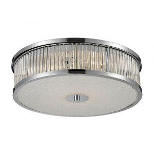 ELK Lighting - Amersham 4 Light Flush Mount In Chrome - 81041/4
