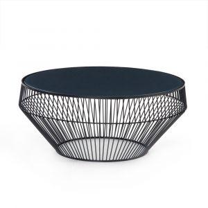 Four Hands - Antonio Coffee Table - Iron Matte Black - 224694-001
