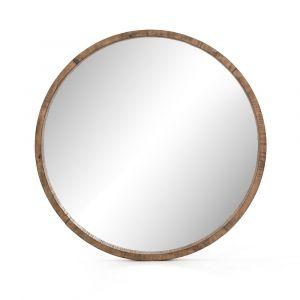 Four Hands - Harlan Round Mirror - VBAR-081