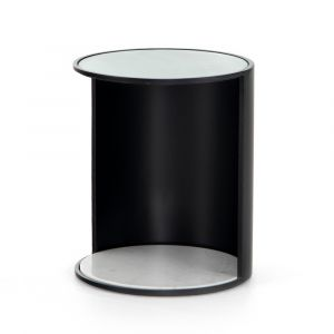 Four Hands - Berto End Table - Iron Matte Black - 224800-001