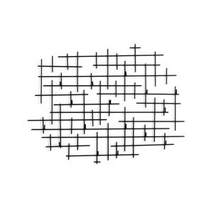 Four Hands - Crossin Coat Rack - Iron Matte Black - IMAR-274