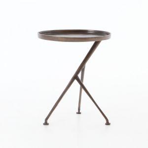 Four Hands - Schmidt Accent Table - Antique Rust - 106513-007