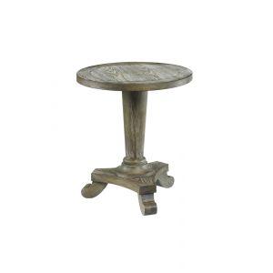 Hammary - Hidden Treasures Driftwood Round Pedestal Table - 090-349