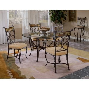 Hillsdale - Pompei 5 Piece Dining Set With Chairs - 4442DTBC