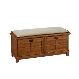 Homestyles Furniture - Arts & Crafts Brown Storage Bench - 5180-26