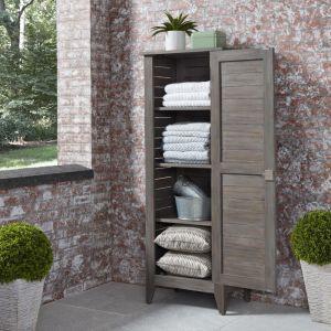 Homestyles Furniture - Maho Gray Storage Cabinet - 5664-26
