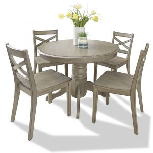 Homestyles - Mountain Lodge Gray 5 Piece Dining Set - 5525-308