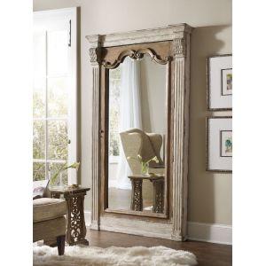 Hooker Furniture - Chatelet Floor Mirror w/Jewelry Armoire Storage - 5351-50003