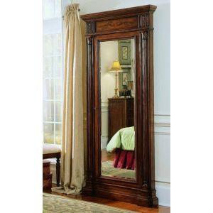 Hooker Furniture - Floor Mirror w/Jewelry Armoire Storage - 500-50-558