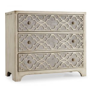Hooker Furniture - Sanctuary Fretwork Chest-Pearl Essence - 3023-85001