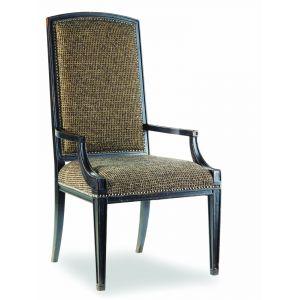 Hooker Furniture - Sanctuary Mirage Arm Chair-Ebony - 3005-75400