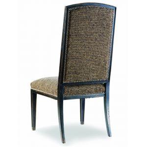 Hooker Furniture - Sanctuary Mirage Side Chair-Ebony - 3005-75410
