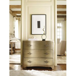 Hooker Furniture - Sanctuary Three-Drawer Shaped Front Gold Chest - 3008-85004