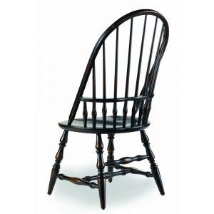 Hooker Furniture - Sanctuary Windsor Side Chair-Ebony - 3005-75330