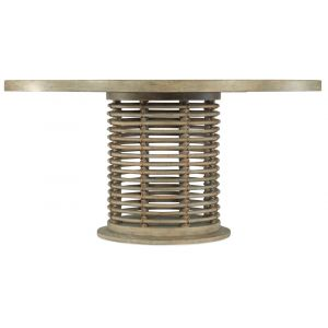 Hooker Furniture - Surfrider 60in Rattan Round Dining Table - 6015-75213-80