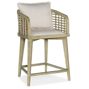 Hooker Furniture - Surfrider Barrel Back Counter Stool - 6015-75350-80