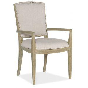 Hooker Furniture - Surfrider Carved Back Arm Chair - Set of 2 - 6015-75401-80