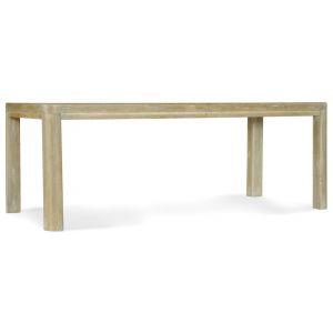 Hooker Furniture - Surfrider Rectangle Dining Table w/1-18in leaf - 6015-75207-80