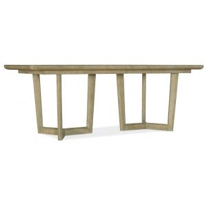 Hooker Furniture - Surfrider Rectangle Dining Table w/2-18in leaves - 6015-75217-80