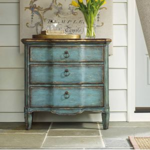 Hooker Furniture - Three Drawer Turquoise Chest - 500-50-878