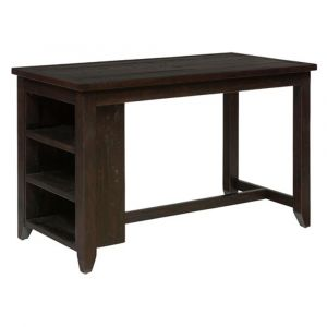 Jofran - Prospect Creek Reclaimed Pine Counter Height Table With 3 Shelf Storage - 257-60
