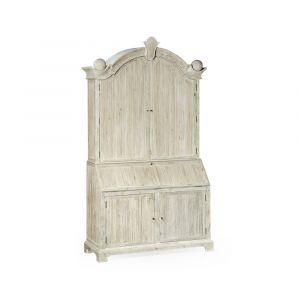Jonathan Charles Fine Furniture - Country House Chic - Alnwick Washed Acacia Bureau - 530034-WAA