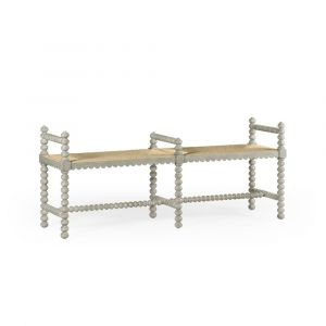 Jonathan Charles Fine Furniture - Country House Chic - Bellingham Double Bench - 530007-CGR