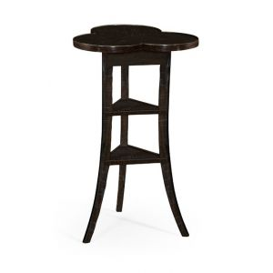 Jonathan Charles Fine Furniture - Casually Country Trefoil Side Table in Dark Ale - 491037-PDA