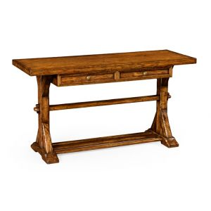 Jonathan Charles Fine Furniture - Casually Country Walnut Serving Table - 491087-CFW