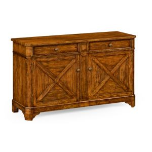 Jonathan Charles Fine Furniture - Casually Country Walnut Sideboard - 491128-CFW