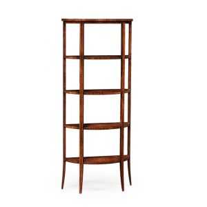 Jonathan Charles Fine Furniture - Clean and Classic Biedermeier Style Five-Tier Etagere inmahogany - 494016-LAM