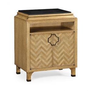 Jonathan Charles Fine Furniture - Eclectic Natural Oak Nightstand - 500065-NCO