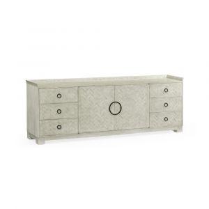 Jonathan Charles Fine Furniture - Urban Cool - Ferdinand Cloudy Oak Buffet with Center Doors - 530225-CLO
