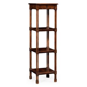 Jonathan Charles Fine Furniture - Tribeca Chippendale Gothic Four-Tier Etagere - 493490-DCW